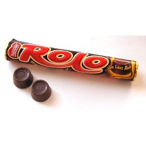 You can use Rolo (R) candy to make delicious cookies.